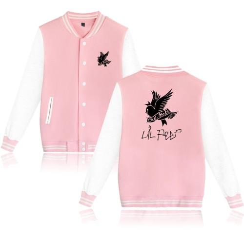 Lil Peep Youth Teens Baseball Jacket Unisex Fall Winter Coat