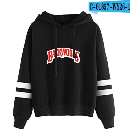 Backwoods Fashion Print Hoodie Long Sleeves Unisex Hoodie
