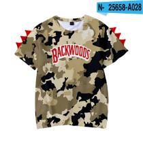 Backwoods Kids 3-D Printed Trendy Short Sleeves T-shirt Unisex T-shirt