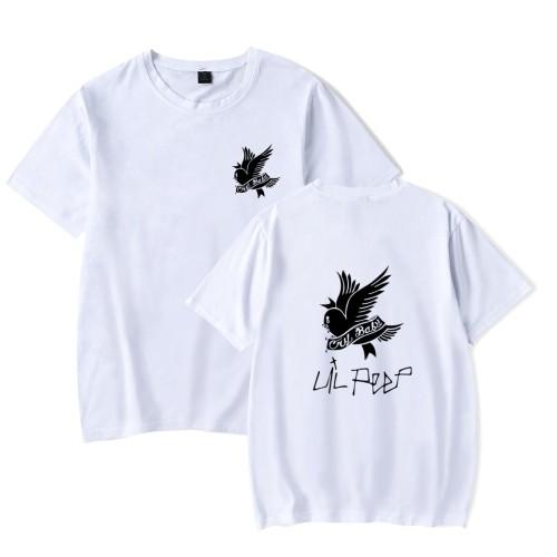 Lil Peep Crybaby Short Sleeve T-shirt Unisex Casual Tee