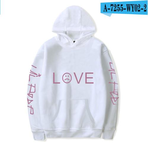 Lil Peep Love Print Hoodie Unisex Youth Adults Hooded Sweatshirt Long Sleeve