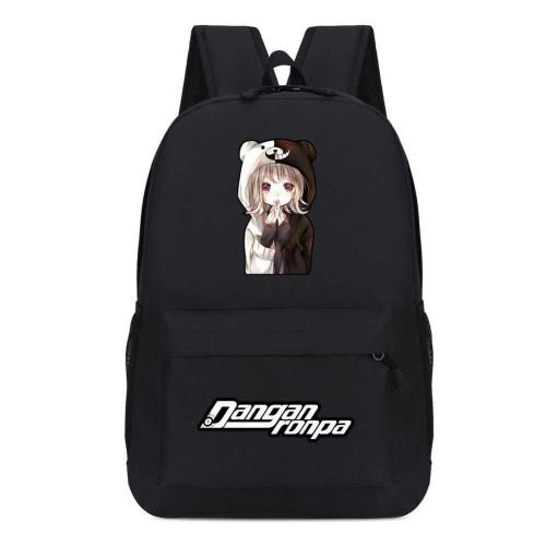 Danganronpa Students Backpack Candy Color School Backpack Bookbag