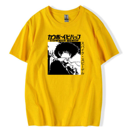 Cowboy Bebop Merch Casual Tee Short Sleeve T-shirt