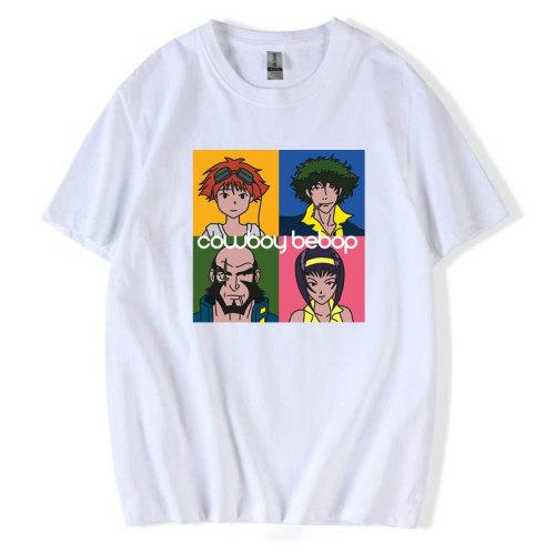 Cowboy Bebop Merch Casual T-shirt Unisec Summer Tops