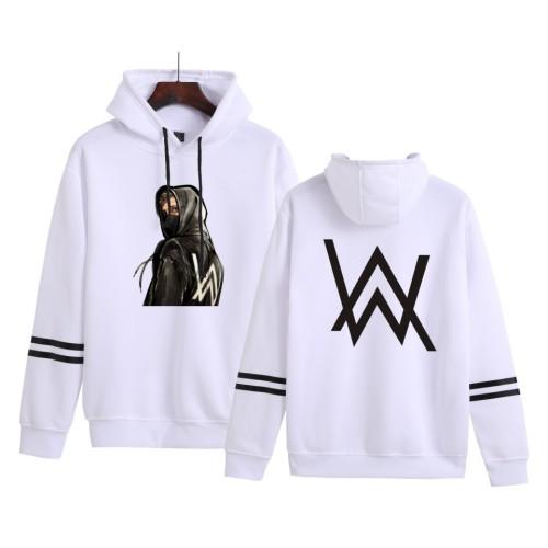 Alan Walker Street Style Casual Sweatshirt Long Sleeve Hoodie Tops