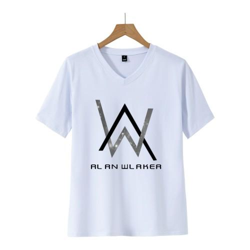 Alan Walker Casual Short Sleeve T-shirt Unisex Tee