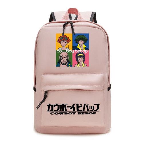 Cowboy Bebop Merch Students Backpack School Backpack Bookbag