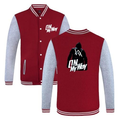 Alan Walker Baseball Jacket Unsiex Youth Teen Fall Winter Coat