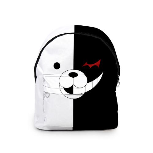 Danganronpa Backpacks Monokuma Black and White Backpacks Stundents School Backpack