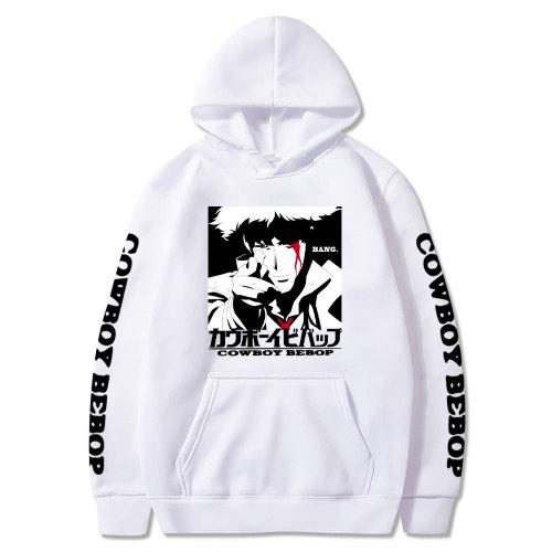 Cowboy Bebop Sweatshirt Long Sleeve Pullover Hoodie Casual Tops Fans Gift