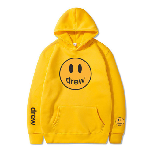 Adults Youth Drew Smile Face 3D Print Unisex Pullover Hooded Fashion Sweatshirts