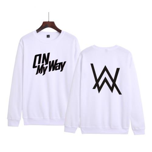 Alan Walker Crewneck Sweatshirt Long Sleeve Casual Sweatshirt Tops