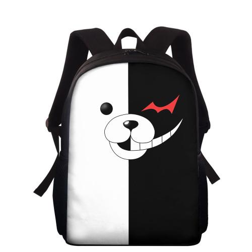 Danganronpa Backpack 3-D Stundents Backpack School Bookbag