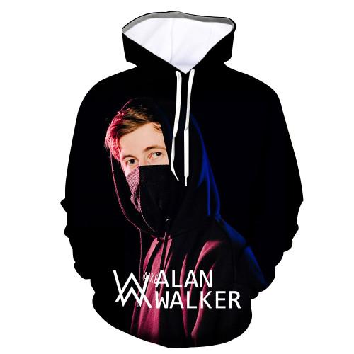 Alan Walker Hoodie Fans Hooded Sweatshirt Casual Tops
