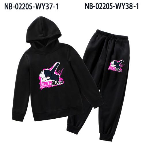 Danganronpa Kids Girls Boys Sweatsuit Fall and Winter Trendy 2pcs Sweatsuit Set