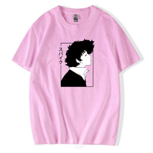 Cowboy Bebop Merch Unisex Street Style T-shirt Short Sleeve Summer Tee