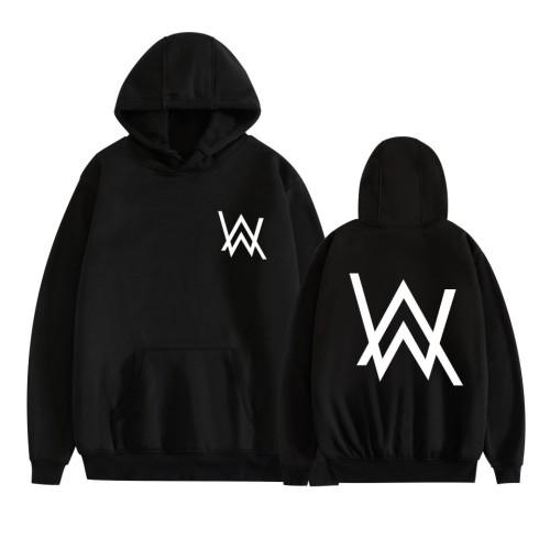 Alan Walker Hoodie Unisex Long Sleeve Hooded Sweatshirt Street Style Hip Hop Tops
