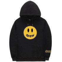 Youth Adults Drew Smile Face Hoodie Unisex Fashion Street Wear Sweatshirt