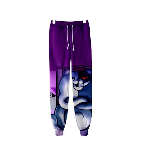 Danganronpa 3-D Sweatpants Jogger Pants Unisex Casual Pants With Adjustable Drawstring