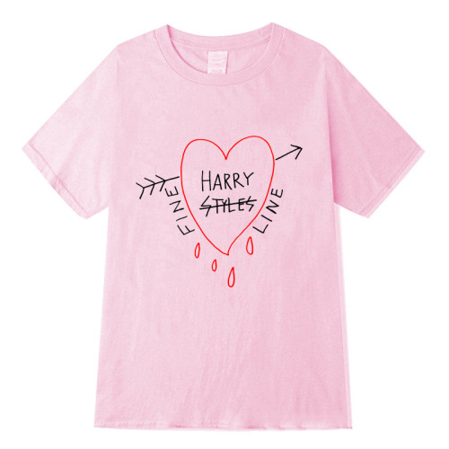 Harry Styles Trendy Summer Short Sleeve T-shirt Unisex Tee