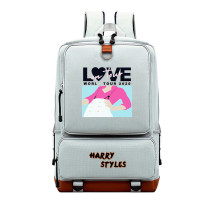 Harry Styles Youth Backpacks School Bookbag  Big Capacity Travel Backpack Computer Backpack