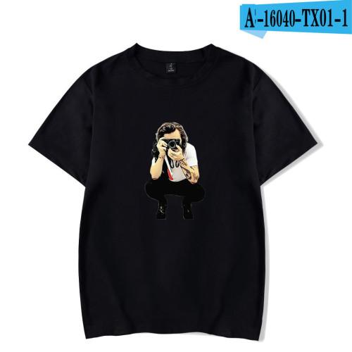 Harry Styles Short Sleeve T-shirt Comfy Cotton Tee