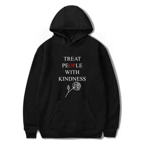 Harry Styles Treat People With Kindness  Hoodie Long Sleeve Sweatshirt Unisex Hooded Pullover Fleece Hoodies