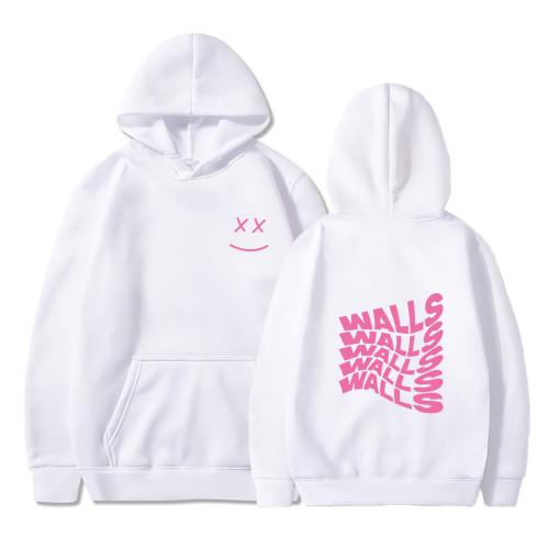 Harry Styles Hoodie Walls Print Casual Hoodie Unisex Fleece Sweatshirt Trendy Tops
