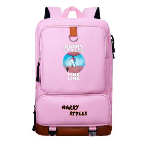 Harry Styles Backpack Students School Backpack For Youth Girls Boys