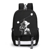 Anime One Piece Students Backpack School Backpack Bookbag For Girls Boys