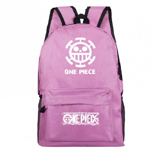 Anime One Piece Galaxy Color Hoodies Fans Backpack Students Backpack Bookbag