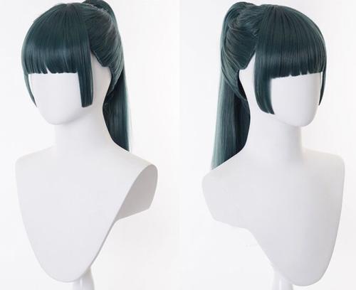 Anime Jujutsu Kaisen Zenin Mai Cosplay Props Cosplay Wigs Purple
