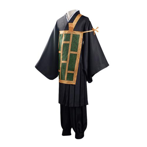 Anime Jujutsu Kaisen Costumes Geto Suguru Cosplay Costume Full Set Halloween Costume
