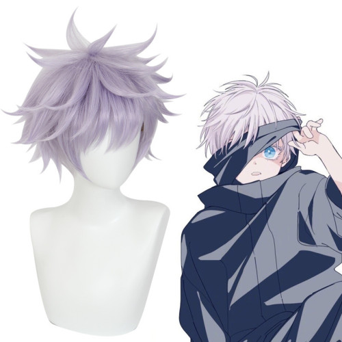 Anime Jujutsu Kaisen Gojo Satoru Cosplay Props Cosplay Wigs