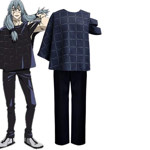 Anime Jujutsu Kaisen Mahito Cosplay Costume Set Halloween Costume