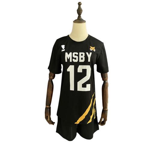 Anime Haikyuu!! MSBY Cosplay Sports Suit Halloween Unisex Cosplay Uniform