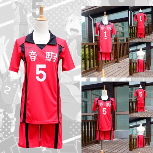 Anime Haikyuu!! Nekoma High Costume Volleyball Cosplay Suit Halloween Party Unisex Costume