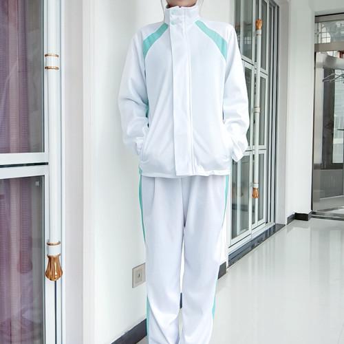 Anime Haikyuu!! Aoba Johsai Costume Long Sleeve Cosplay Sports Uniform Male Female Halloween Cosplay Uniform