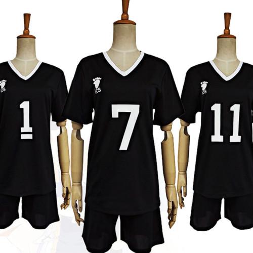 Anime Haikyuu!! Inarizaki High Cosplay Costume Sports Suit Costume Short Sleeve T-shirt and Shorts Set Unisex