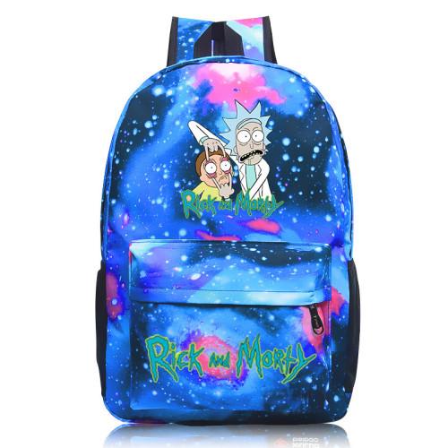 Rick and Morty Youth Teens Backpack School Backpack Bookbag