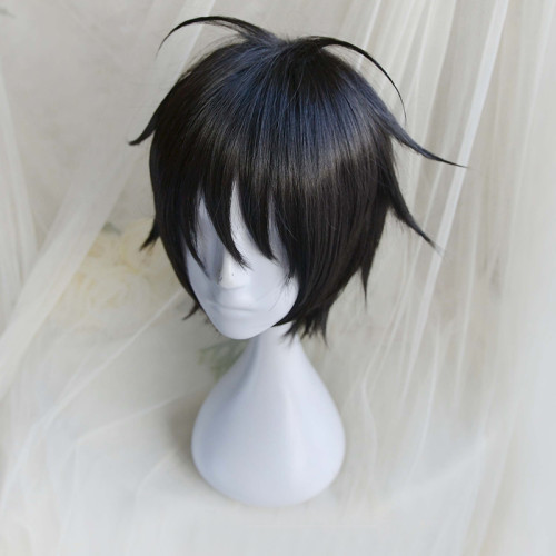 Anime One Piece Cosplay Props Luffy Cosplay Wigs Black