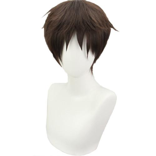 Attack on Titan Eren Cosplay Wigs Halloween Cosplay Props