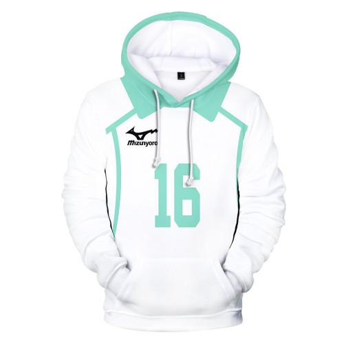 Anime Haikyuu!! Aoba Johsai High Hoodie Long Sleeve Trendy Winter Fall Fleece Hoodies Sweatshirt