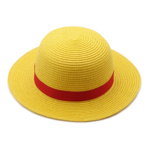 Anime One Piece Cosplay Costume Monkey D. Luffy Halloween Cosplay Costume With Hat and Straw Sandals
