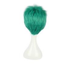 Anime One Piece Roronoa Zoro Green Cosplay Wigs