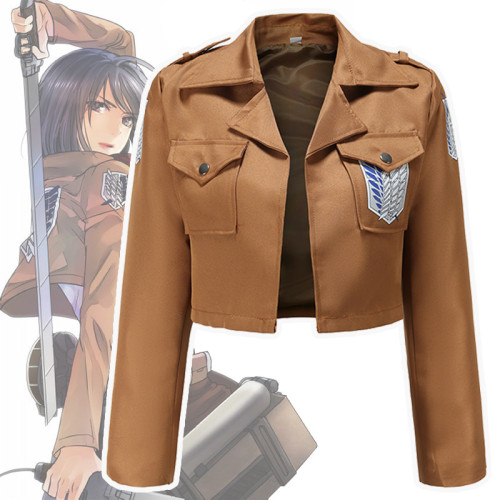 Attack On Titan Wings Of Freedom Jacket Shingeki No Kyojin Cosplay Jacket Halloween Cosplay Costume