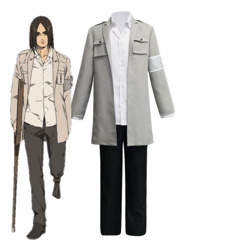 Anime Attack On Titan Cosplay Costume Season 4 Final Season Eren Jäger Cosplay Costume