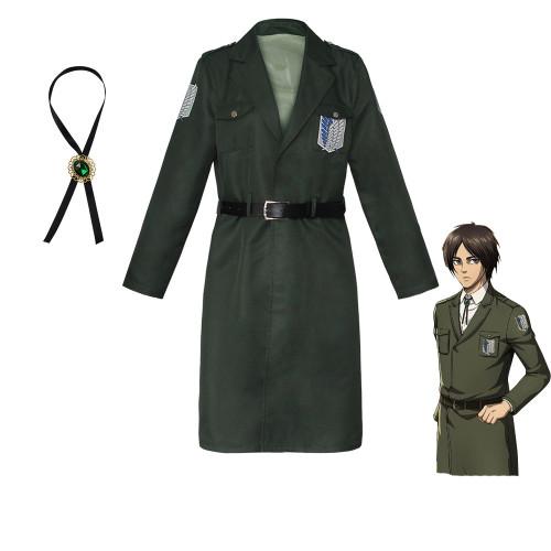 Anime Attack On Titan Season 4 Final Season Costume Cloaks Wings of Freedom Halloween Costume Cloak