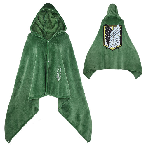 Attack On Titan Wings Of Freedom Hooded Blanket