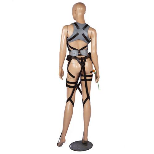 Attack On Titan Harness Belts Shingeki No Kyojin Belts AOT Harness Cosplay Asjustable Straps